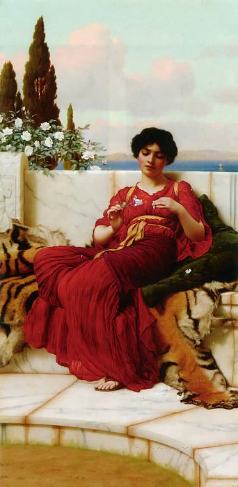 Mischief. John William Godward