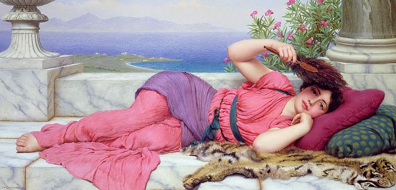 Noonday Rest. John William Godward