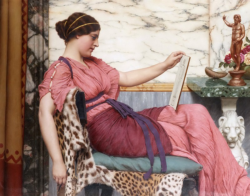 An Amateur. John William Godward