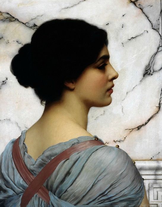 Pompeiean beauty. John William Godward