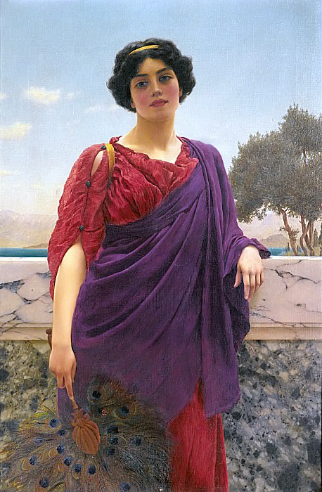 The Rendezvous. John William Godward