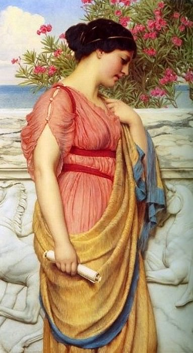 Sappho. John William Godward
