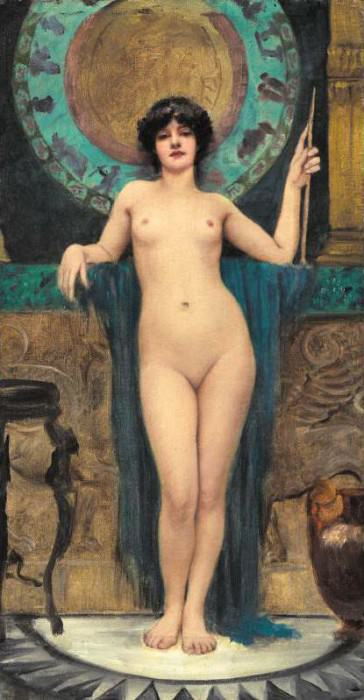 Campaspe. John William Godward