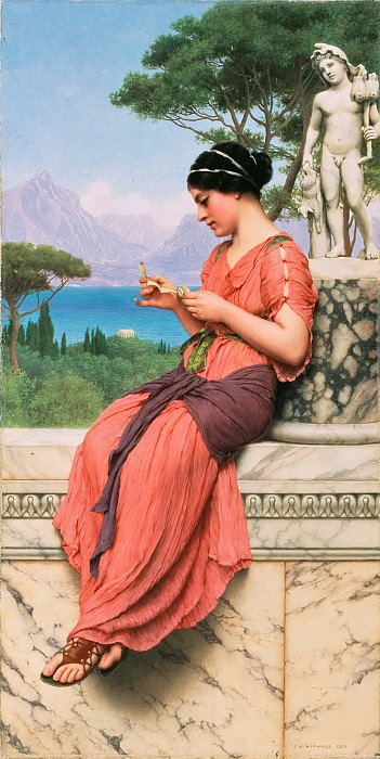 The Love Letter. John William Godward