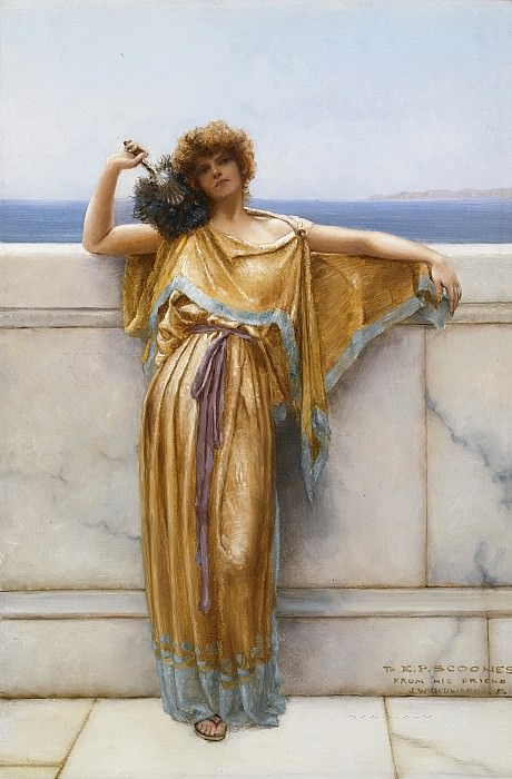 CLYMENE. John William Godward