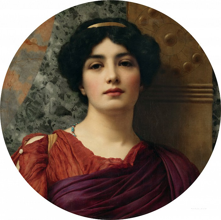 Contemplation. John William Godward