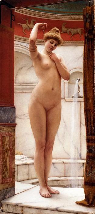 The bather. John William Godward