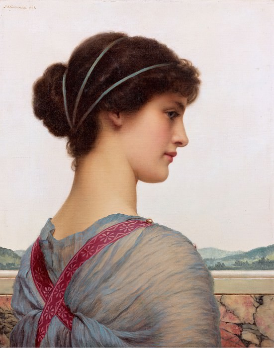 Classical Beauty. John William Godward
