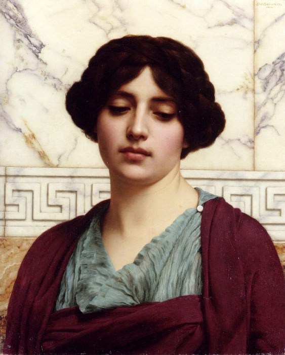 Stesicrate. John William Godward