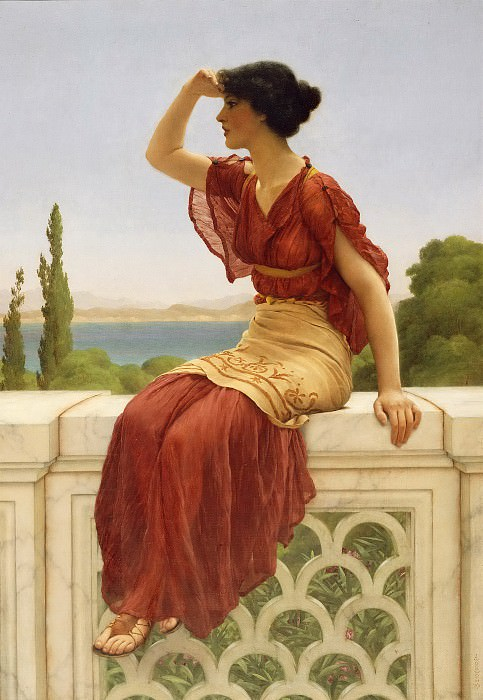 The Signal. John William Godward