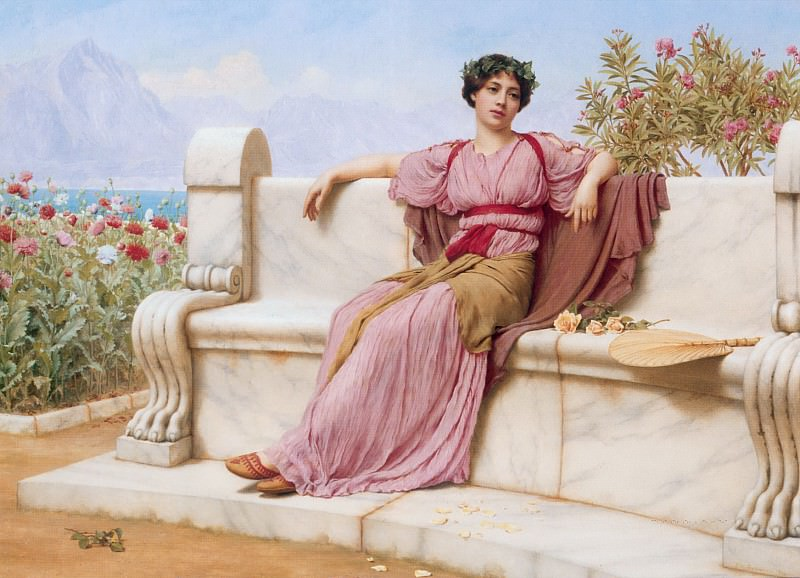 Tranquillity. John William Godward