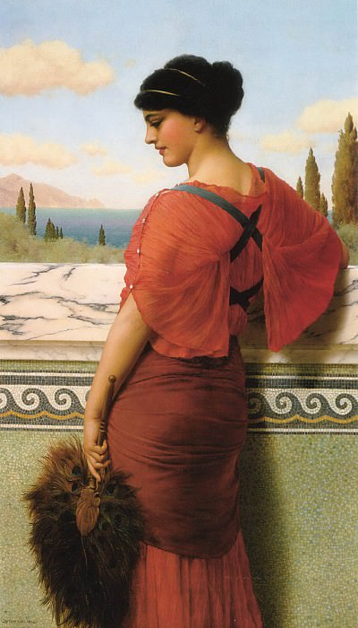 Phyleis. John William Godward