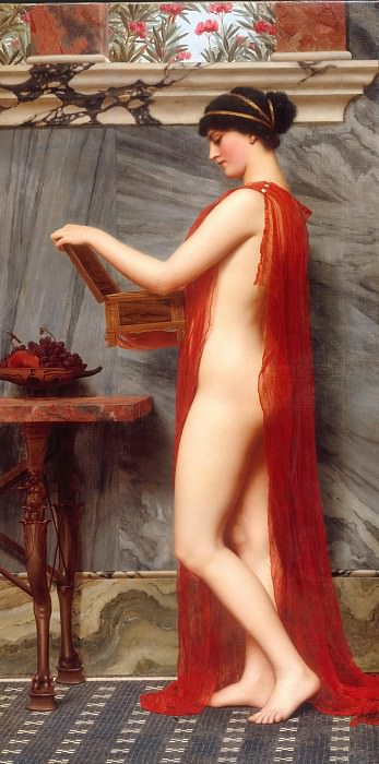 The Jewel Box. John William Godward