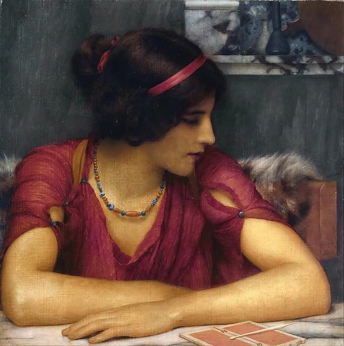 The Letter. John William Godward