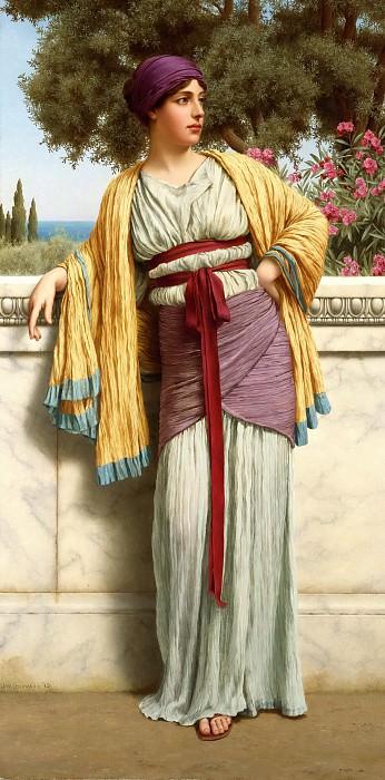 Cestilia. John William Godward