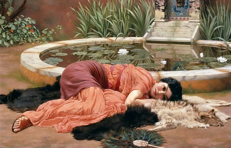 Dolce Far Niente. John William Godward