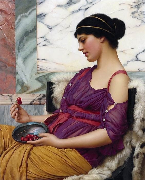 Ismenia. John William Godward