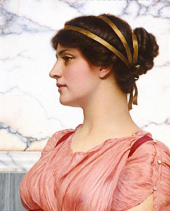 Roman Beauty. John William Godward