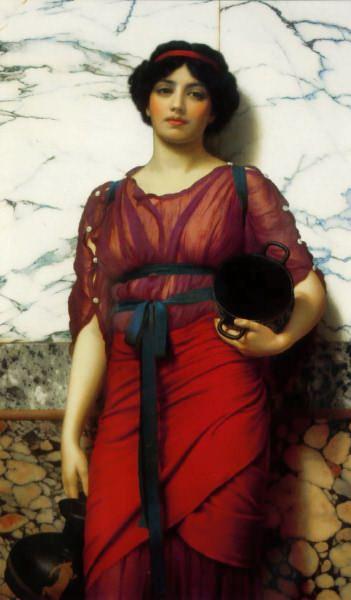 Grecian Idyll. John William Godward