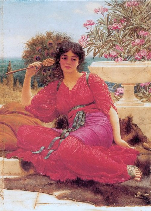 Flabellifera (sketch). John William Godward