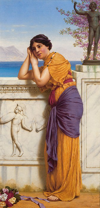 Rich Gifts Wax Poor When Lovers Prove Unkind. John William Godward