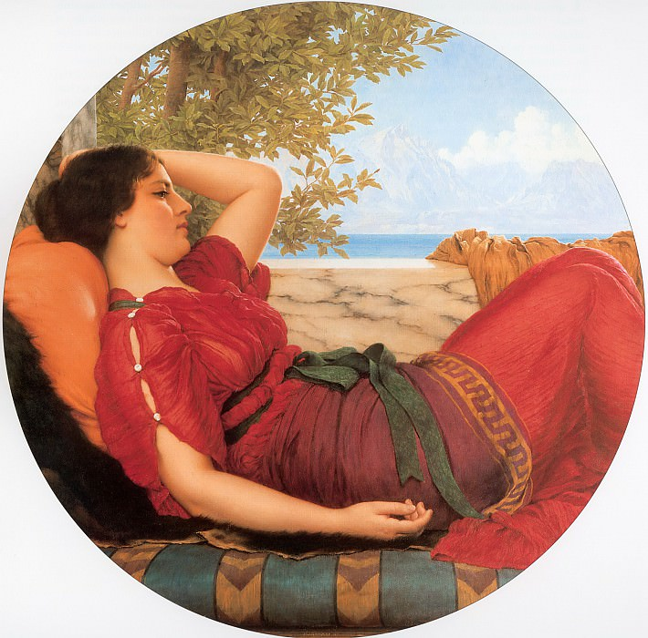 In Realms of Fancy. John William Godward