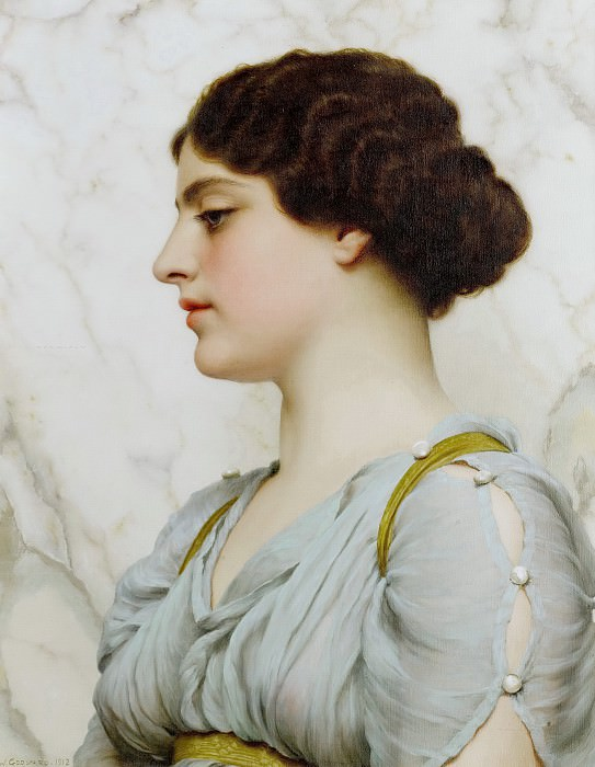 A Roman beauty. John William Godward