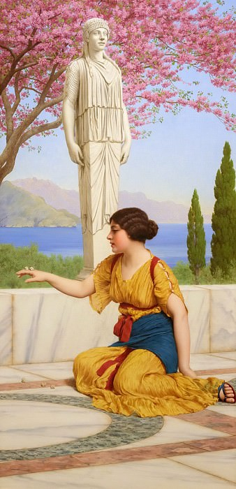 Ancient Pastimes. John William Godward