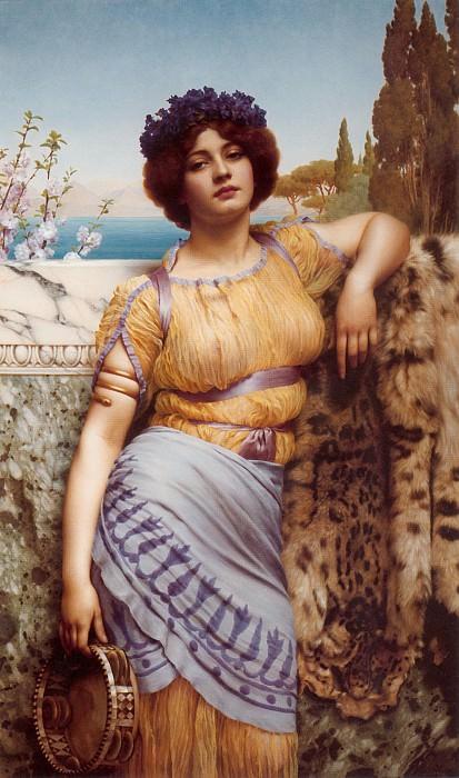 Ionian Dancing Girl. John William Godward