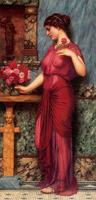 An Offering to Venus. John William Godward