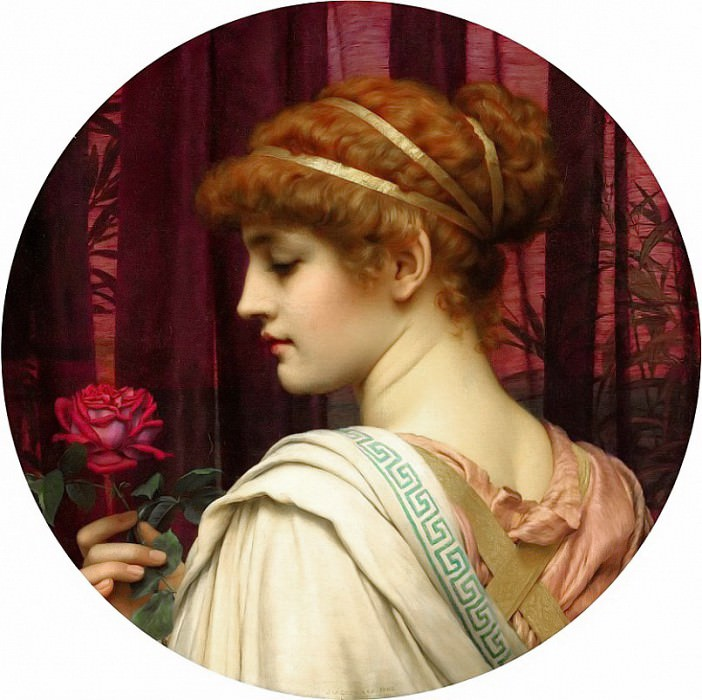 Chloris. John William Godward