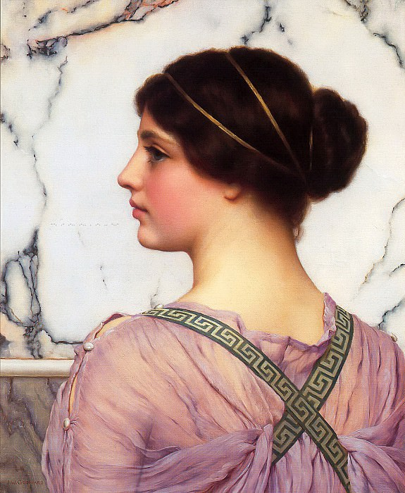 A Grecian Lovely. John William Godward