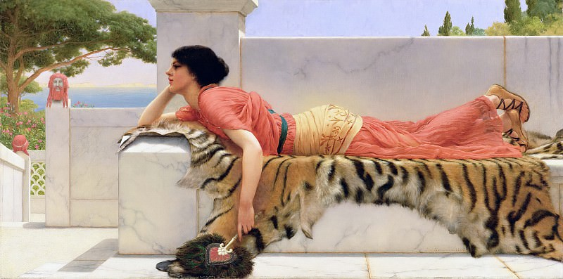 Expectation. John William Godward