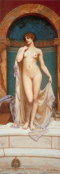 Venus at the Bath. John William Godward