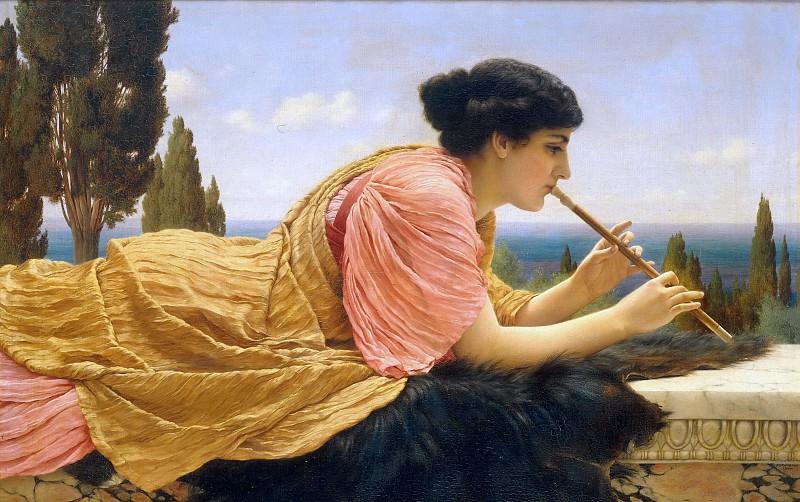 A Melody. John William Godward