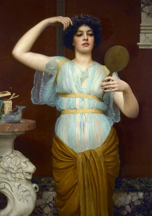 Ione. John William Godward