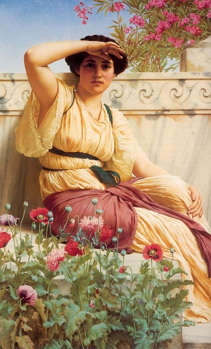 A Tryst. John William Godward