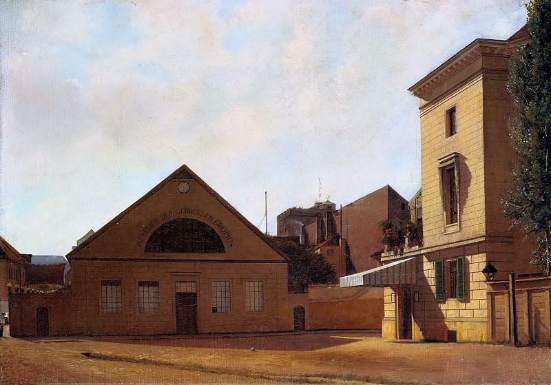 The Studio of the Gropius Brothers. Eduard Gaertner