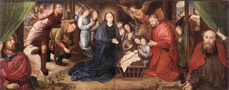 Поклонение пастухов. Хуго ван дер Гус