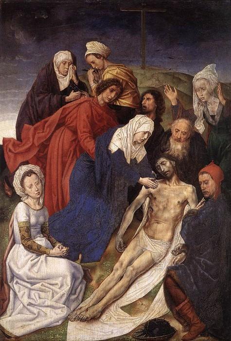 Оплакивание Христа. Хуго ван дер Гус