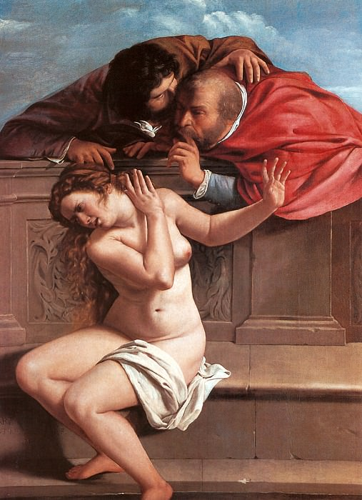 Susanna and the Elders 1610. Artemisia Gentileschi