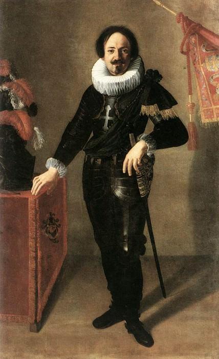 Portrait Of A Condottiero. Artemisia Gentileschi