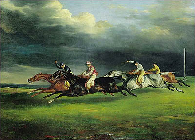 Derby at Epsom. Jean Louis Andre Theodore Gericault
