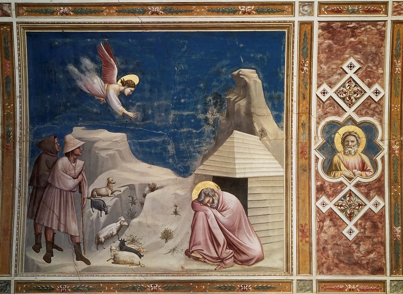 05. Joachims Dream. Giotto di Bondone
