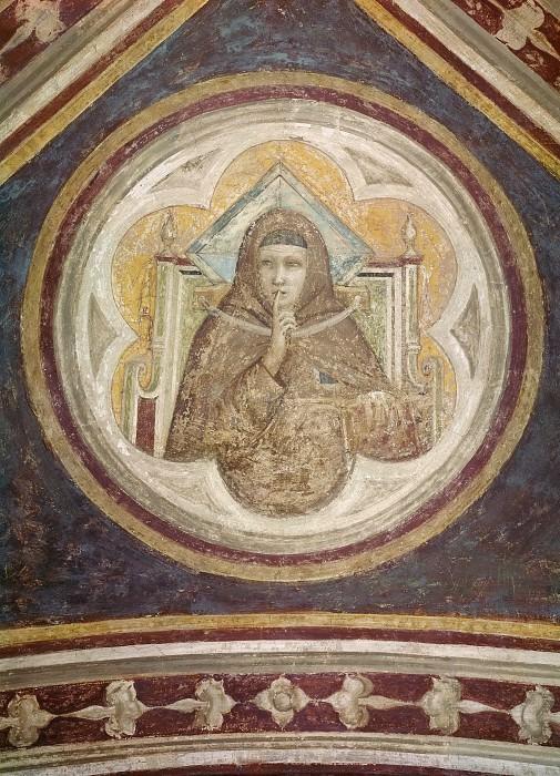 Bardi Chapel: Obedience. Giotto di Bondone