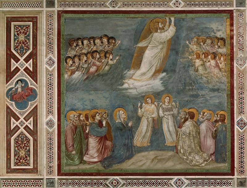 38. Ascension. Giotto di Bondone