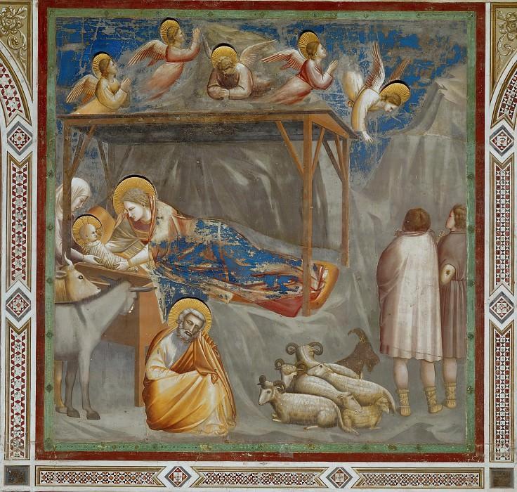 17. Nativity. Giotto di Bondone