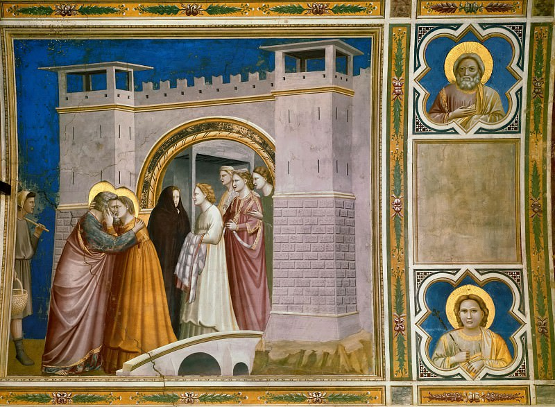06. Meeting at the Golden Gate. Giotto di Bondone