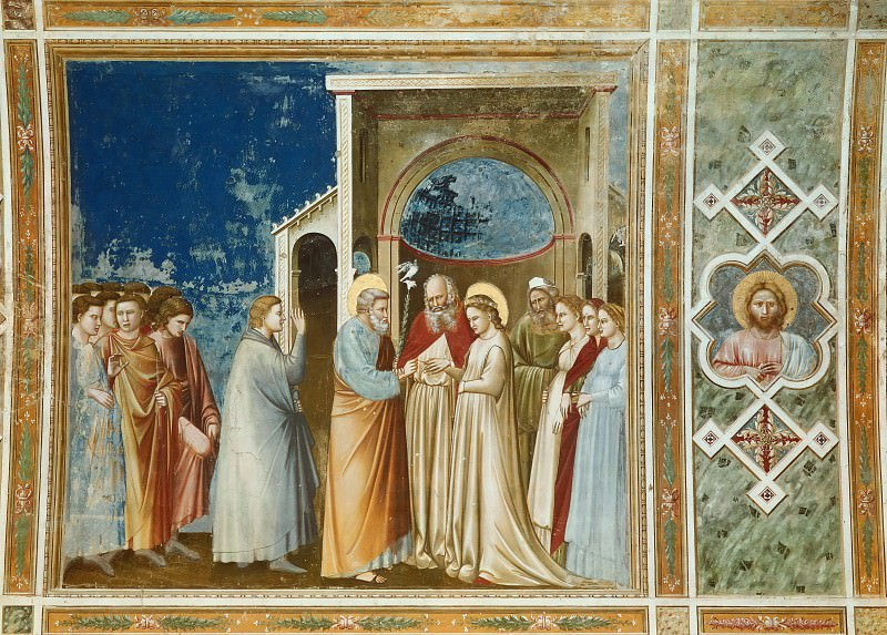 11. Marriage of the Virgin. Giotto di Bondone
