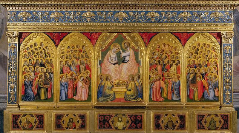 Baroncelli Polyptych. Giotto di Bondone